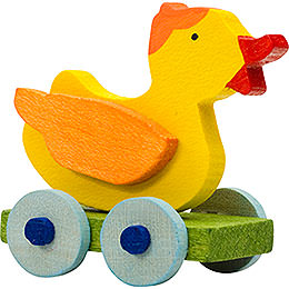 Tree Ornament  -  Toy Duck  -  5cm / 2 inch