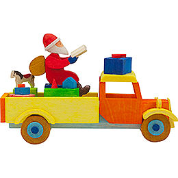 Tree Ornament  -  Truck Santa Claus  -  7,5cm / 3 inch