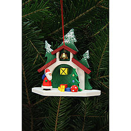 Tree Ornaments Forest Chapel with Niko  -  9,2x8,7cm / 4x3 inch