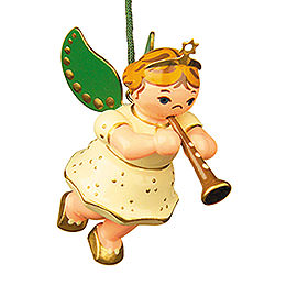 Tree ornament Angel with Clarinet 6cm / 2,5inch