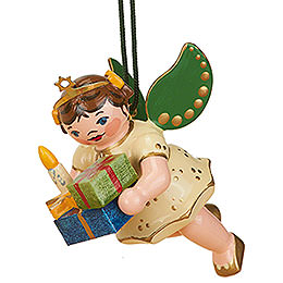 Tree ornament Angel with Gifts 6cm / 2,5inch