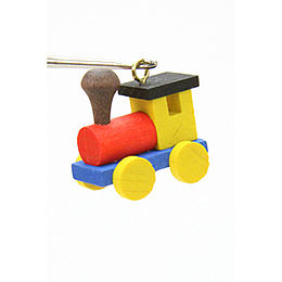 Tree ornament Engine  -  2,4 / 2,3cm  -  1 x 1 inch