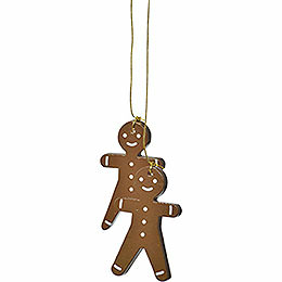 "Tree ornament ""Gingerbread man""  -  5cm / 2inch"