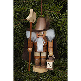 Tree ornament Nightwatchman natural  -  12cm / 5 inch