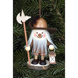 Tree ornament Nightwatchman natural  -  9,6cm / 4 inch