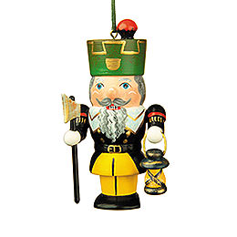 Tree ornament Nutcracker miner  -  7cm / 3inch