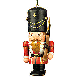 Tree ornament Nutcracker soldier  -  7cm / 3inch
