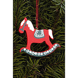 Tree ornament Pferd gross  -  6,2 x 6,5cm / 2.4 x 2.5inch