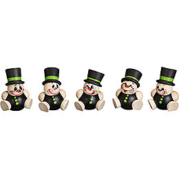 Tree ornament Schorchy  -  5 - pcs  -  4cm / 2 inch