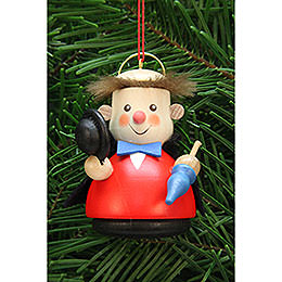 Tree ornament Teeter man Arthur, the angel  -  7,5cm / 3inch