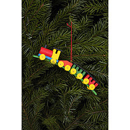 Tree ornament Train  -  13,0 x 2,6cm / 5 x 1 inch