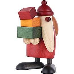 Weihnachtsmann, Geschenke tragend  -  19cm