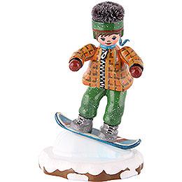 Winterkinder Snowboardfahrer  -  8cm
