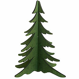 Wooden stick - tree green  -  19cm / 7.5inch